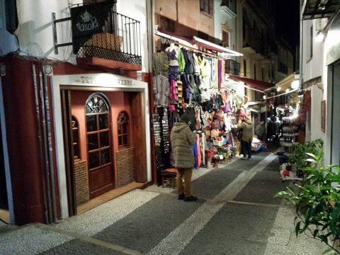 """Die """"Calle Teterías"""" in Granada"""